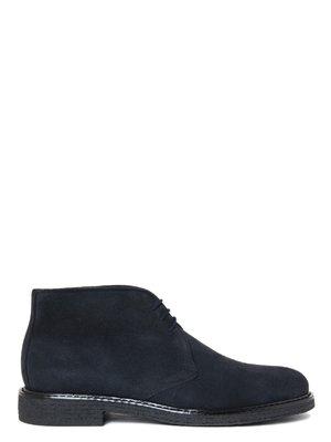 Ботинки синие | 3023734