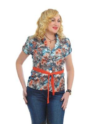Блуза разноцветная | 3024512