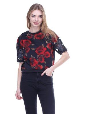 Блуза черная | 3020390
