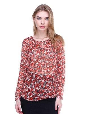 Блуза в цветочный принт   3024713