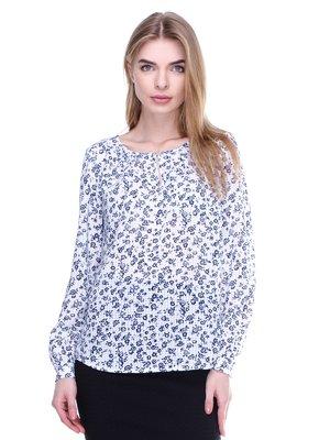 Блуза у квітковий принт | 3024714