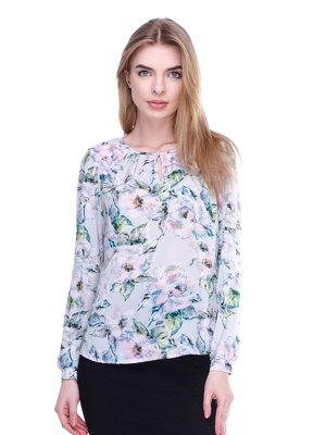 Блуза у квітковий принт | 3024710