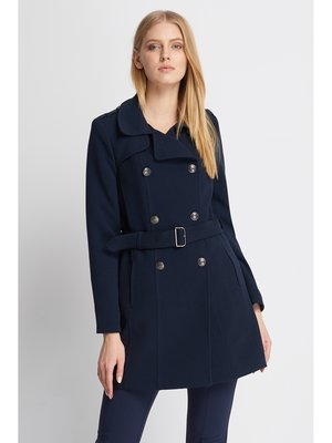 Пальто темно-синее | 2980382