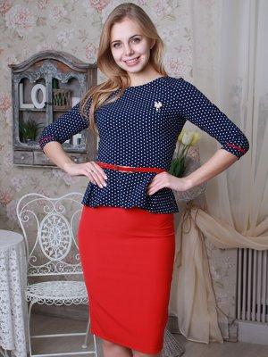Костюм: блуза и юбка | 3029721