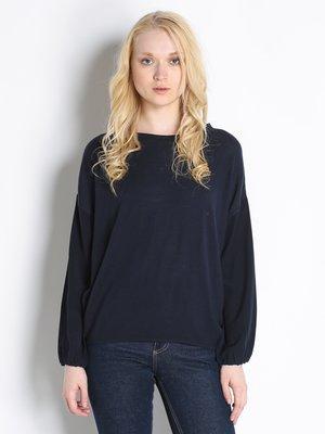 Блуза темно-синя | 2748825