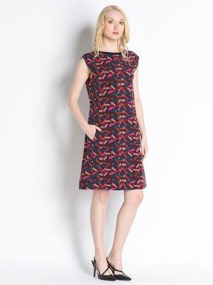 Платье абстрактной расцветки | 2748933