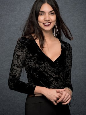 Блуза черная | 2984645