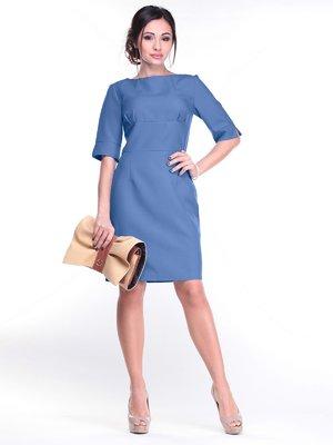 Платье цвета джинс | 3031226