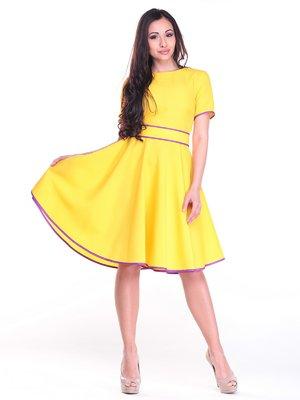 Платье солнечного цвета | 3031246
