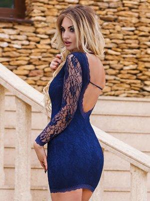 Платье синее | 3023580