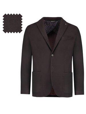 Піджак темно-бордовий | 3037604