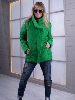 Куртка зеленая | 3000063