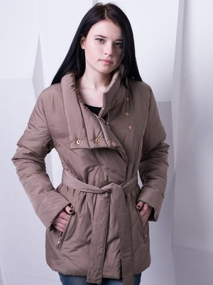 Куртка бежевая | 3036635