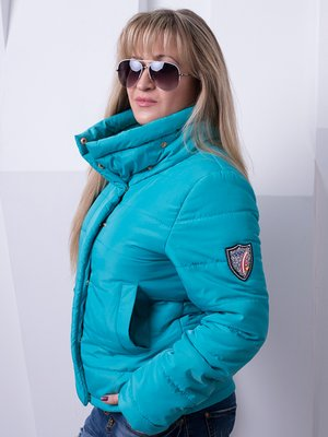 Куртка бирюзовая | 3036636