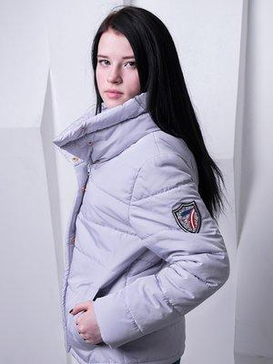 Куртка сиреневая | 3036639