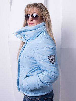 Куртка голубая | 3036644