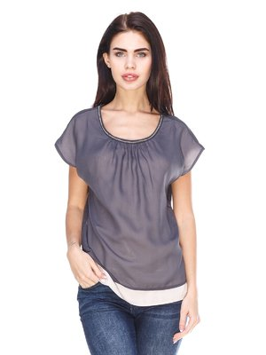 Блуза сіра | 3029882