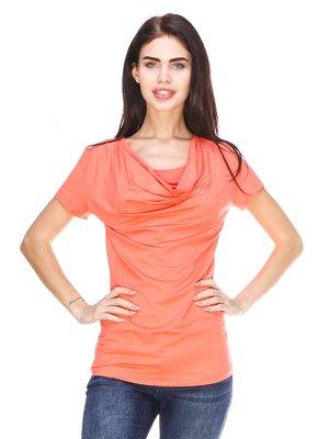 Блуза коралловая | 3029894