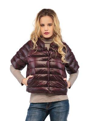Куртка бордовая | 3043011