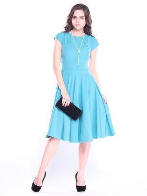Сукня кольору зеленої бірюзи | 3008134