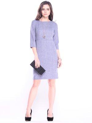 Сукня кольору фіолетового серпанку | 3041130