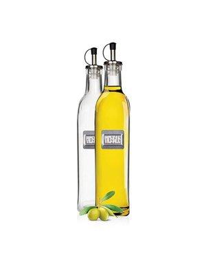 Набор: 2 бутылки 500 мл для масла и уксуса Culinaria | 3061384