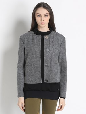 Куртка сіра | 2841604