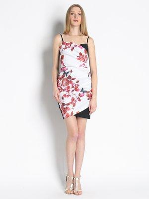Сукня біла з принтом   3067015