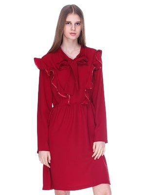 Платье бордовое | 3054173