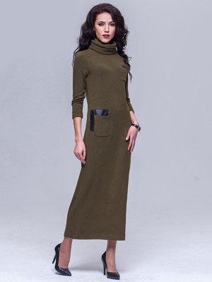 Платье цвета хаки | 5327059