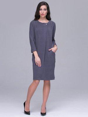Платье серое | 2894482