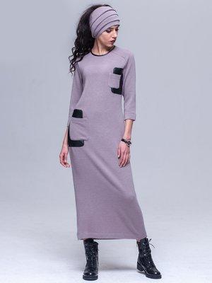 Платье двухцветное | 3023857