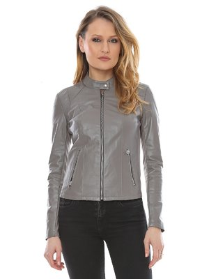 Куртка сіра | 3010743