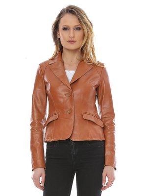 Куртка коньячного кольору | 3010783