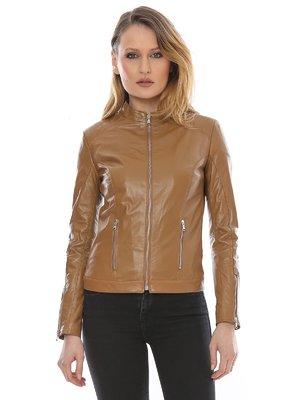 Куртка коньячного цвета | 3010548