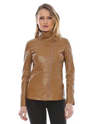 Куртка коньячного цвета | 3010592