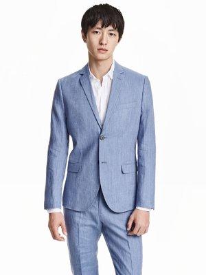 Пиджак голубой | 3086657