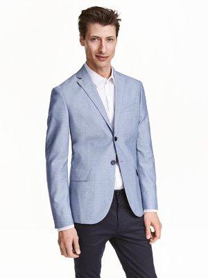 Пиджак голубой | 3086684