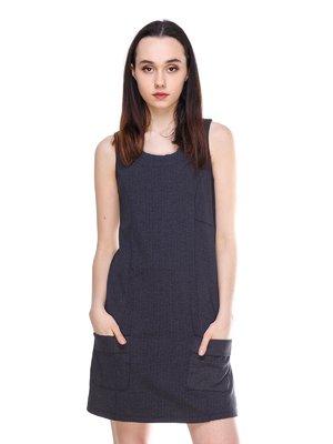 Платье цвета антрацит | 3064153