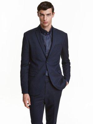 Пиджак темно-синий | 3086748