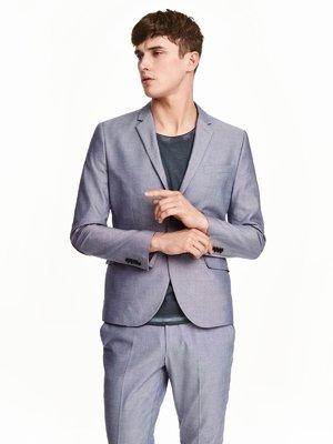 Пиджак голубой | 3086758