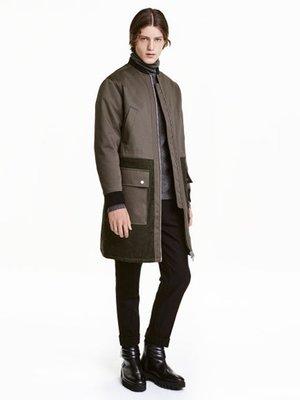 Куртка кольору хакі   3086853