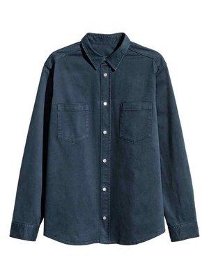 Рубашка темно-синяя | 3086854
