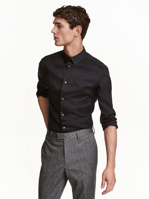Рубашка черная | 3086941