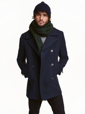 Пальто темно-синее | 3086622