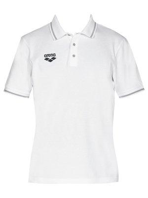 Футболка-поло белая | 3084514