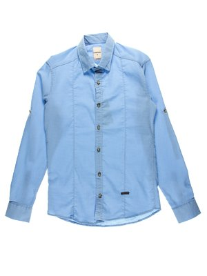 Рубашка голубая   2968583
