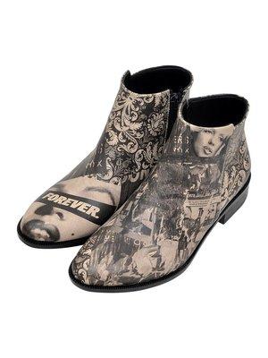 Ботинки в принт | 3081129
