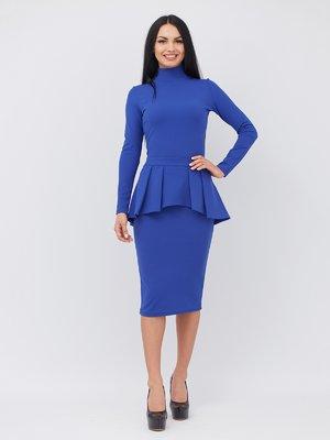Сукня кольору електрик | 3090645
