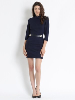 Платье темно-синее | 2691498